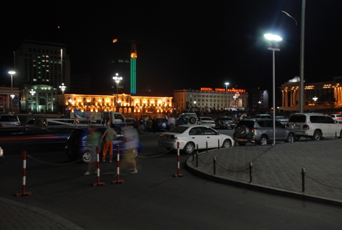 Ulan Bator by night
