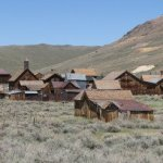 Approaching Bodie State Park - anybody home?