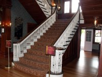 Main Staircase  Stanley Hotel   Travels With Cookie