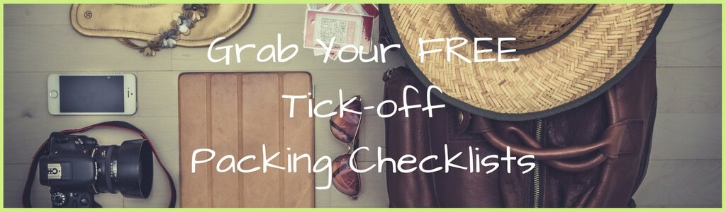Get Your FREE Travel Packing Checklist - Tips 4 Trips - packing lists
