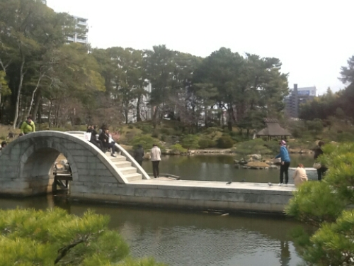 The bridge at Shukkei-en