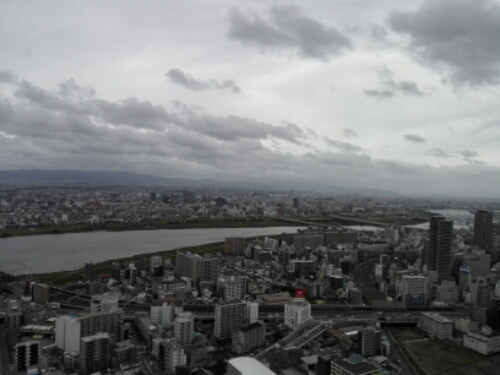View of Osaka. Pictures from Japan