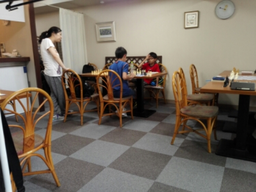 Chess in Osaka at An Pasan