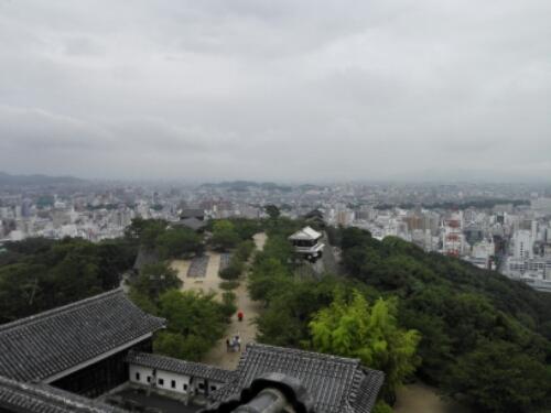 Matsuyama Castle grounds