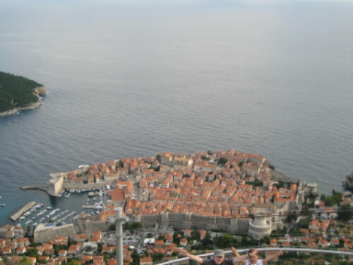 View of the Coty of Dubrovnik