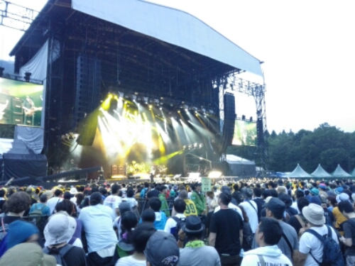 Mötorhead during Fuji Rock Festival 2015