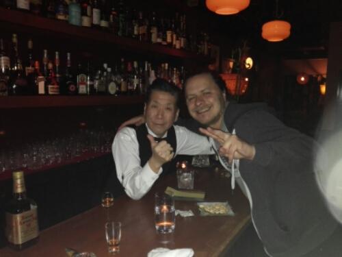 Atomic Age Bar in Susukino, Sapporo