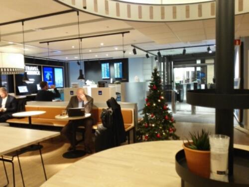 SAS Lounge Gardermoen