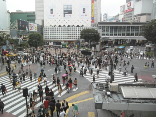 Shibuya Crossing, Japan