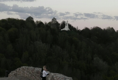 Three Crosses on a hill overlooking Vilnius