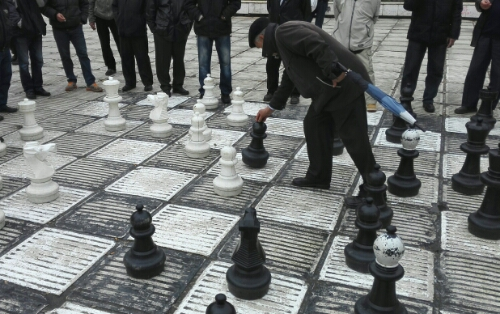 A Game of Chess in Sarajevo