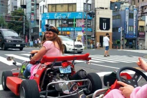 Super Mario Kart in Tokyo