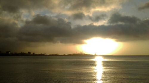 Sunset in Tamsui
