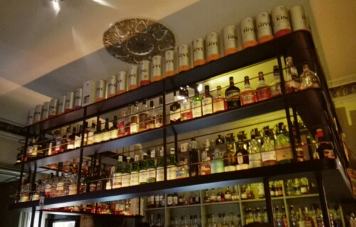 King & Mouse Whisky Bar in Vilnius