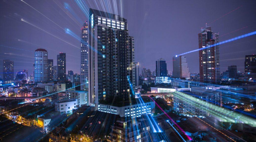 A Zoom-Burst of Bangkok Skyline