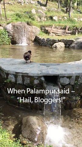 """When Palampur said – """"Hail, Bloggers!"""""""