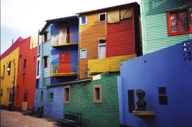 La Boca District in Buenos Aires