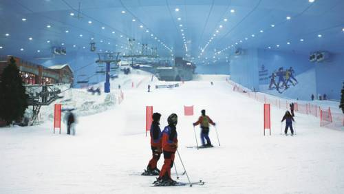 best indoor skiing slope