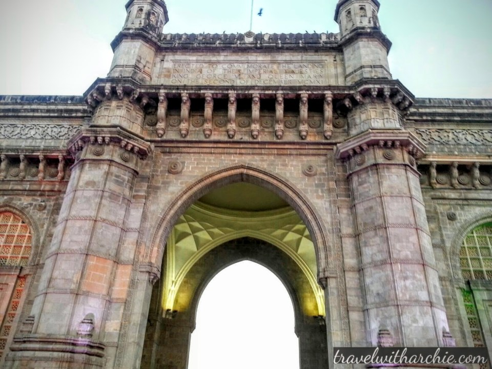The Arch of Gateway of India