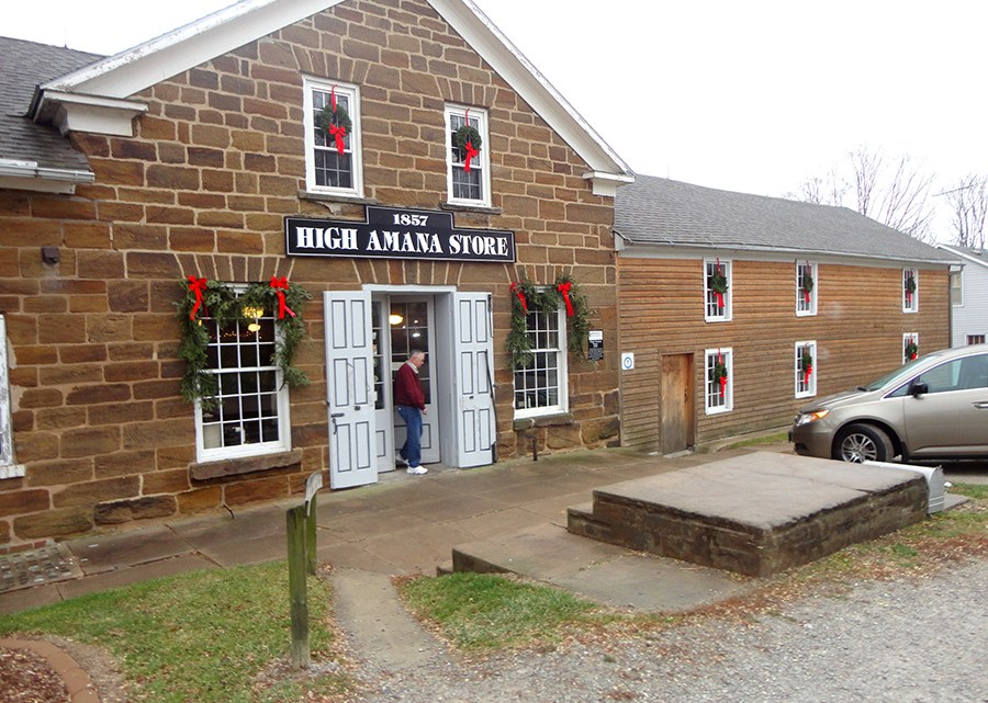 Amana General Store. Photo Credit: Cindy Ladage