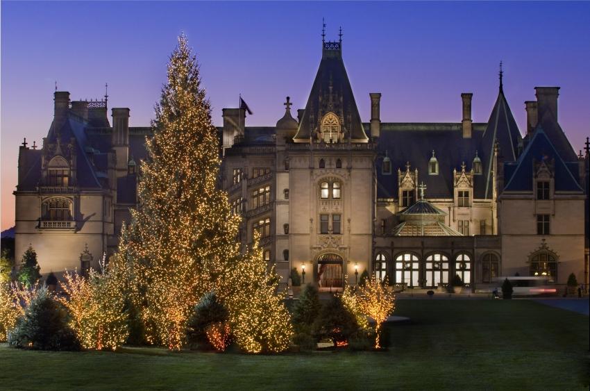 Christmas at the Biltmore Estates