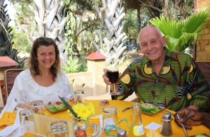 Interview with Geri Mitchell and Maurice Phillips from Sandele in The Gambia