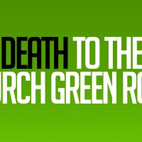 Death to the Church Green Room