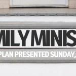 Family Ministry Presentation