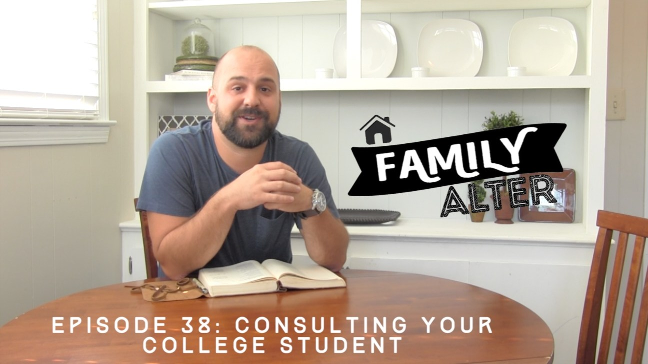 38 - Consulting Your College Student