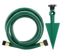 Garden hose extension: Device makes it easy to get to a ...