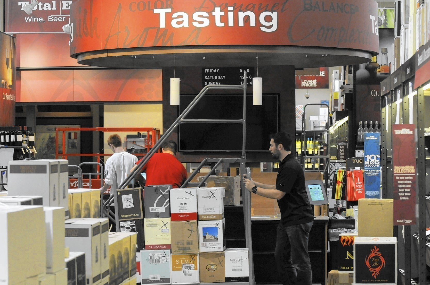 Package Store Owners Versus Liquor Superstore In Battle Of