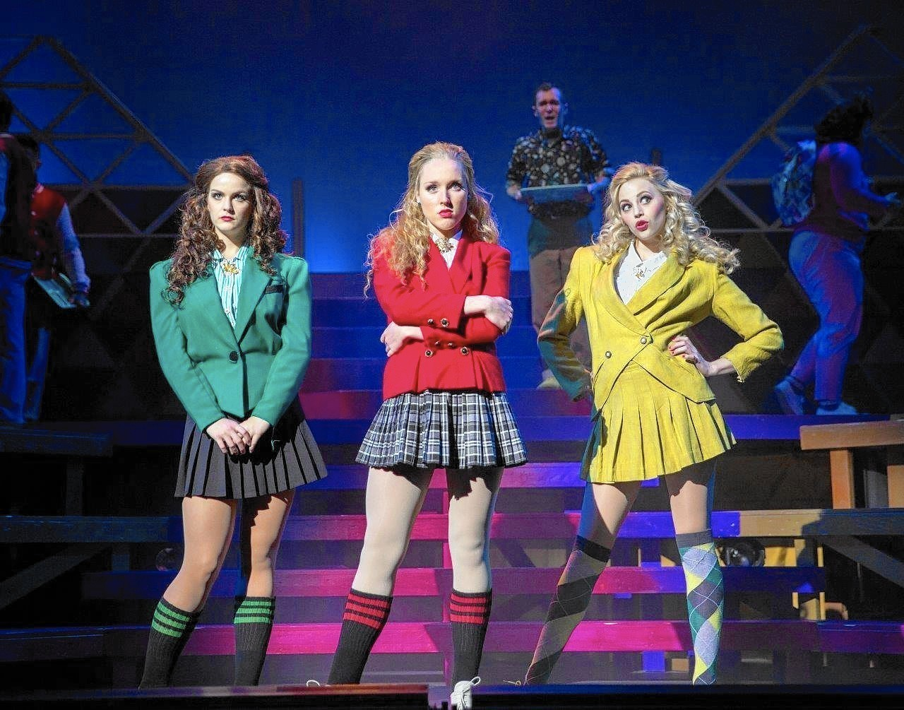 Mean Girls Musical Barret Wallpaper Heathers Review In The Orlando Sentinel Orlando Sentinel