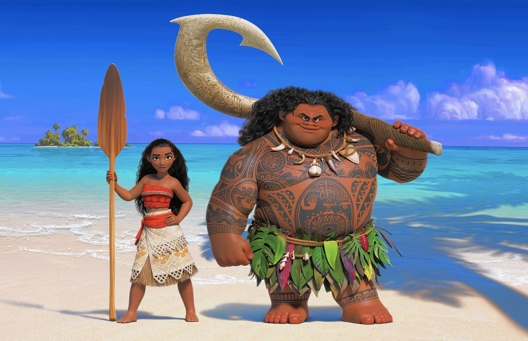 Explaining that lousy maui costume and cultural
