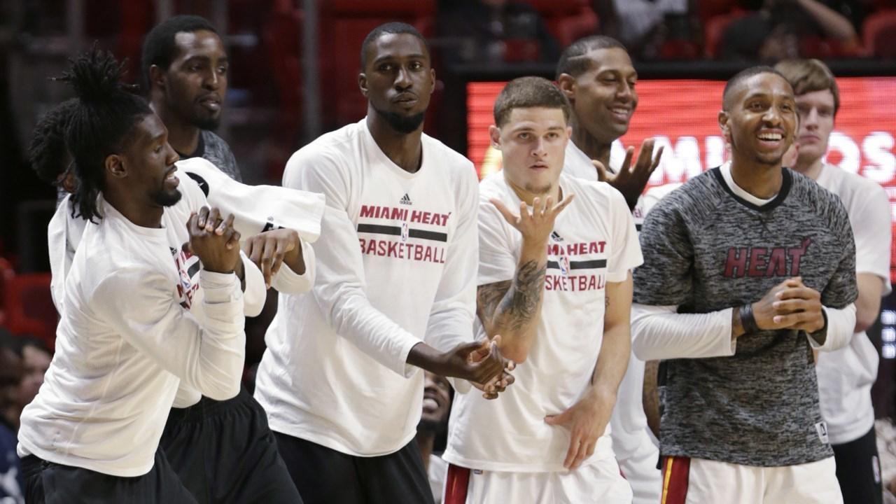 Mi miami heat hoopshype - Miami Heat Roster For 2017 Miami Heat Roster Basketball
