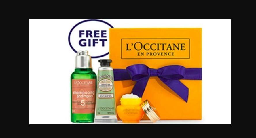 Free Three Piece Gift From L39occitane En Provence Sun