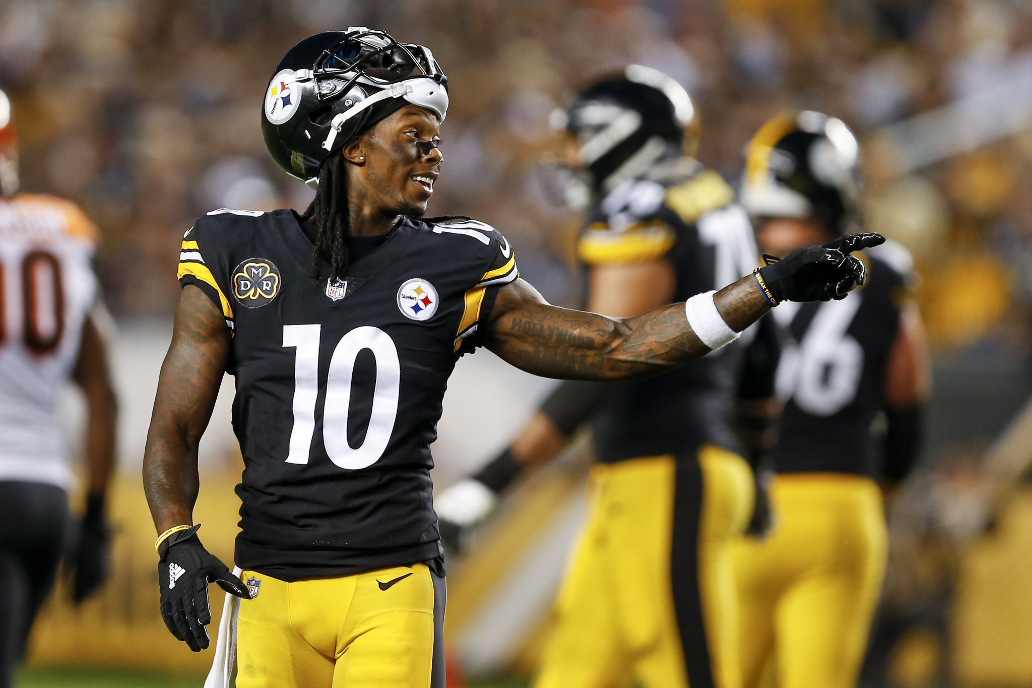 Nfl Wallpaper Hd Steelers Bench Receiver Martavis Bryant After Social Media