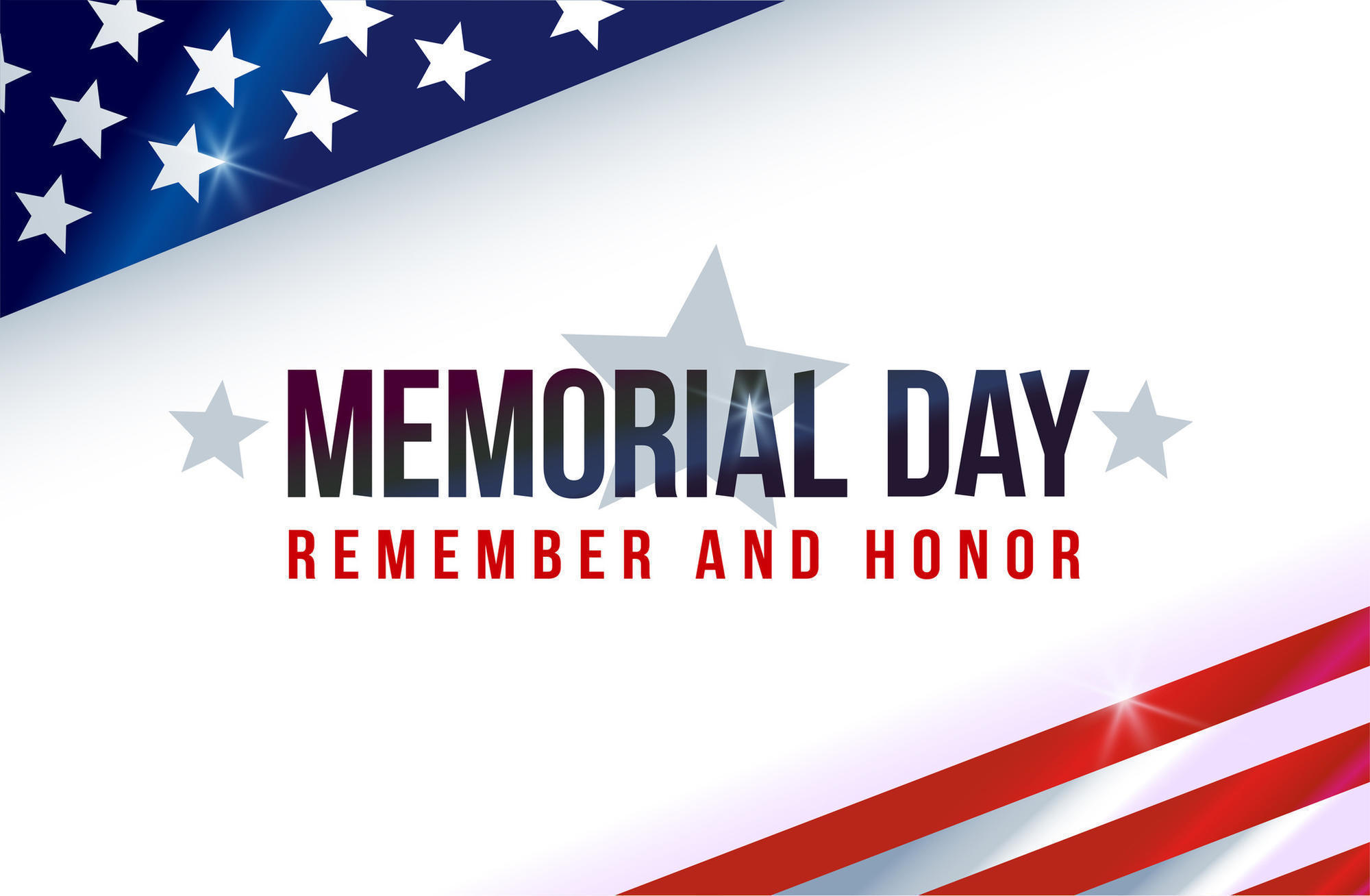 memorial day 2019 closed sign template