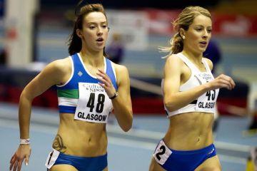 Sprint se nalazi u zonama 4 i 5, a puls je blizu maksimuma. Flickr: scottish athletics