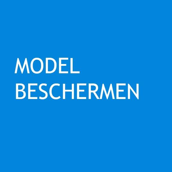 MODEL BESCHERMEN