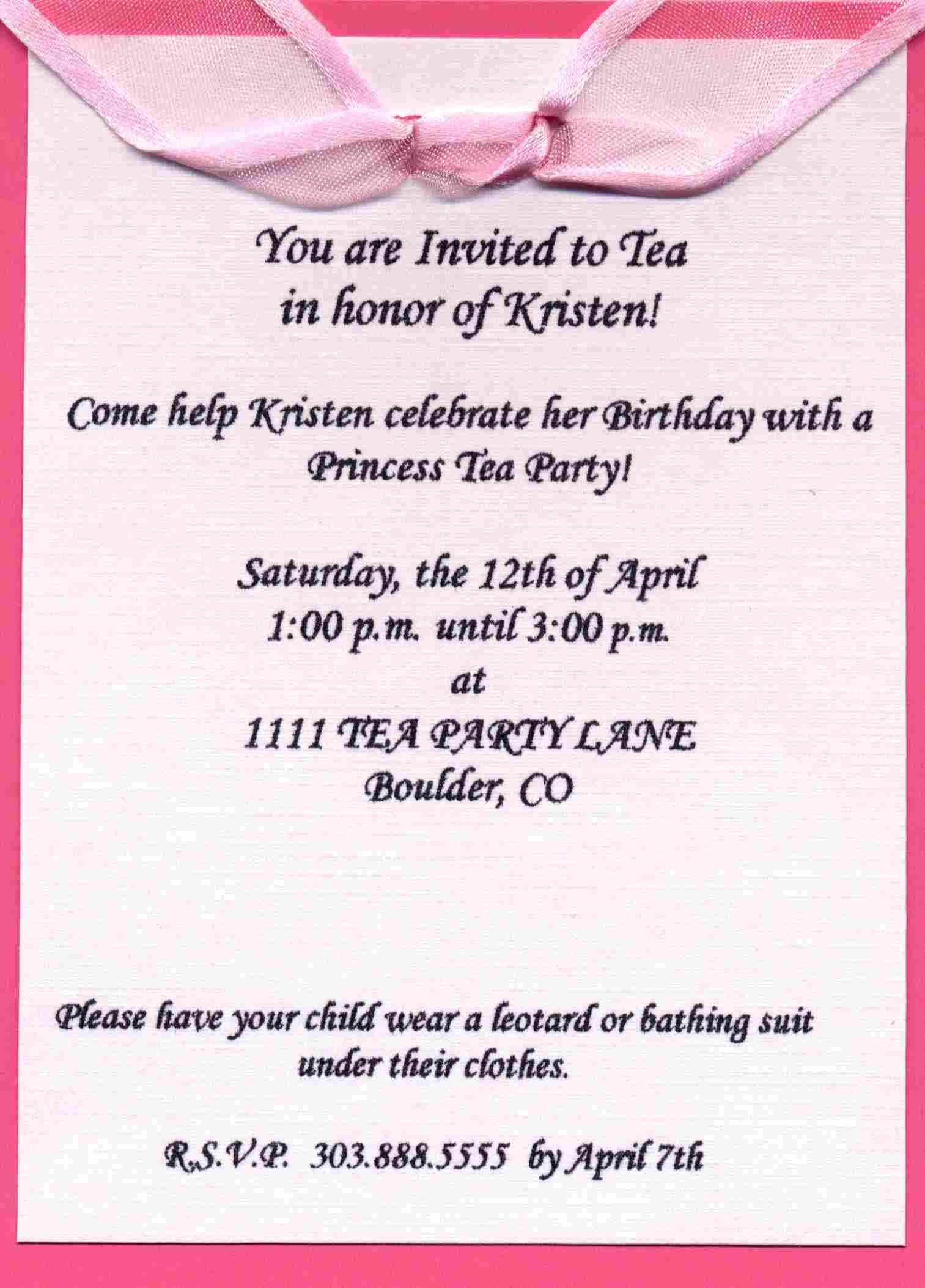 invitations samples for birthday – Birthday Invitations Sample