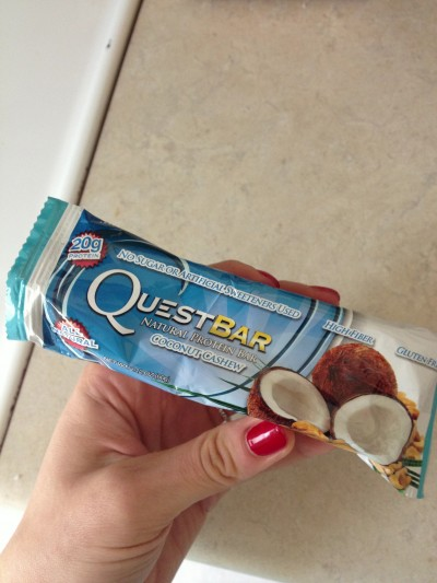 Seriously, Quest Bars are my favorite! I eat them pretty much every day! (don't forget to click on the ad in my Right Sidebar to order yours!!)