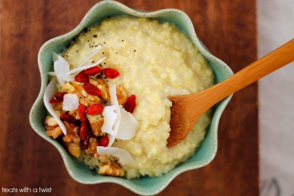 Creamy Millet Porridge 2