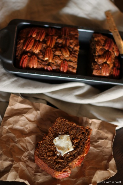 Pecan Pie Banana Bread 4