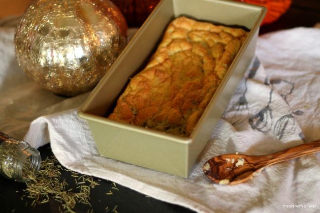 Pumpkin Rosemary Spoon Bread 1