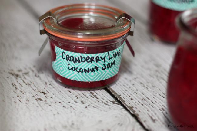 Cranberry Lime Coconut Jam 1
