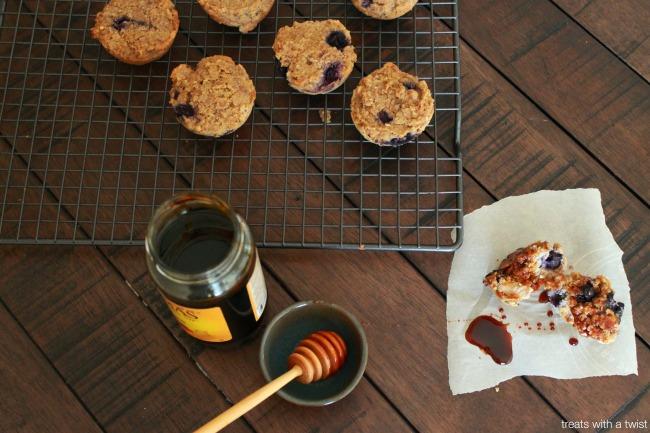 Blueberry Bran Muffins 5