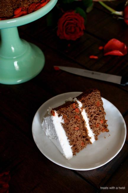 Matcha Goji Cake 5