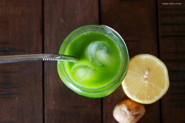 Fresh Ginger Green Juice 2