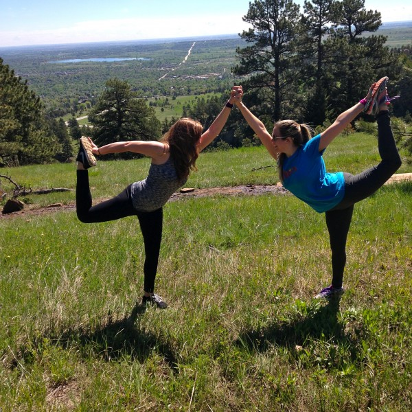 Heather and I - yoga - Blend Retreat