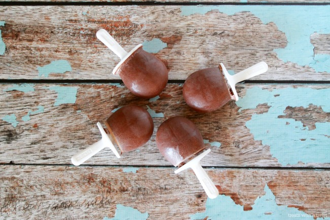 Mexican Hot Chocolate Popsicles 1